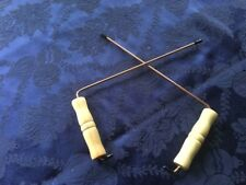 9 1/2 in x 4 DOWSING RODS FIND WATER DRAINS LOST ITEMS GET YES AND NO ANSWERS