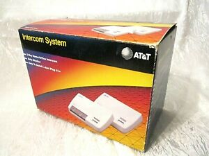 1992 AT&T Wireless 2-Way Home/Office Communication Intercom System 728A Tested