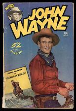 John Wayne (1949) #5 1st Print Photo Cover Harvey Kurtzman US Edition 52 Pgs GD