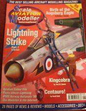 Scale Aviation Modeller 5.6 Lightning,Kingcobra,Bf109