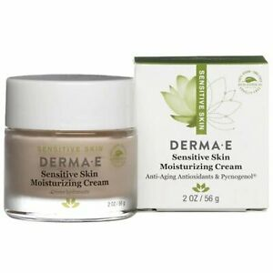 Derma-E Sensitive Skin Moisturizing Cream with Pycnogenol 2 Oz