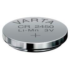 CR2450 Lithium-Batterie 3,0 Volt 560mAh ø24,7x5,0mm 3V Knopfzelle von VARTA