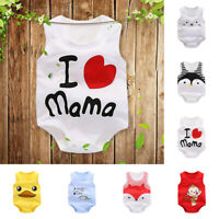 Newborn Kids Baby Infant Cartoon Romper Jumpsuit Bodysuit Outfit Clothes Cute