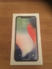 Apple iPhone X - 256GB - Silver (O2) Smartphone
