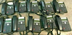 LOT OF 20 POLYCOM IP 335 VOIP BUSINESS PHONES W/ Handsets & Stands