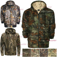 MENS CAMOUFLAGE HOODIE JUNGLE PRINT COMBAT HOODY HUNTING  HOODED PLUS SIZE S-6XL