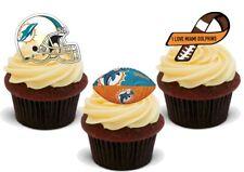 Football Américain Miami Dolphins Trio Mix stand up premium carte cake topper