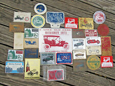 Lot Of 30 Vintage Car Show Plaques 1959 to 1984~Buick~Greenfield Village~VMCCA