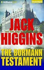Paul Chevasse: The Bormann Testament 1 by Jack Higgins (2015, CD, Unabridged)