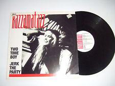 """Razzamatazz – Two Time Boy -Disco Mix 12"""" 45 Giri Vinile Stampa GERMANIA 1989"""