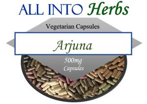Arjuna Certified Organic 120 Vegetarian Capsules