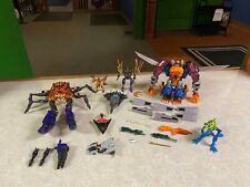 Beast Wars Transformers LOT of Transmetal Figures RAMPAGE OPTIMUS PRIMAL + More
