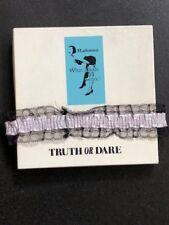 MADONNA TRUTH OR DARE MOVIE 1991 PROMO BOX w GARTER BELT &  PILLOWCASE MIRAMAX