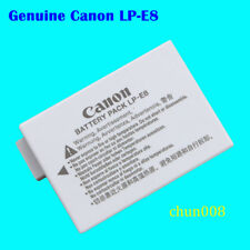 100% Genuine Canon LP-E8 Battery For Rebel T2i T3i T4i T5i  Kiss X4 X5 X6i X7i