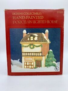 Noma Dickensville Christmas Village House Bakery LIGHT & CORD NOT INCLUDED