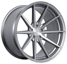 ROHANA-RF1 20x9/10 5x120 ET20/25 Brushed Titanium Wheels Fit BMW 7SERIES 745-750