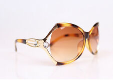 New Designer 100% UV400 Green Membrane Sunglasses Large Glasses Present box