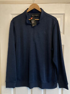 Mens Under Storm Zip Up Golf Sports Pullover Top, Size XL, New With Tags
