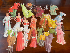 New ListingVintage (2 different sets) Mother Daughter Paper Dolls 45 pieces