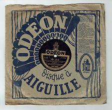 78T Jean LUMIERE Disque Phonographe MA LOLA - NE PAS SAVOIR Chanté ODEON 166888
