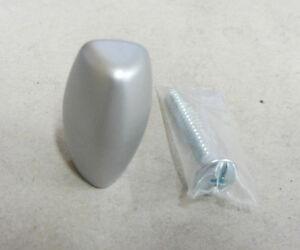 Knob Knob X Furniture Cabinet Drawers Size ø 0 23/32in Plastic Silver