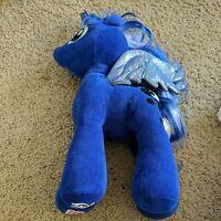Build a Bear Workshop My Little Pony Princess Luna Plush Pegasus Blue Doll Toy