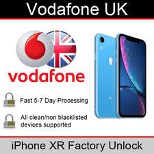 Vodafone UK iPhone XR Factory Unlocking Service