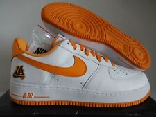 """NIKE AIR FORCE 1 LOW RETRO """"UNDEFEATED X LA LAKERS"""" WHITE SZ 9.5 [845053-103]"""