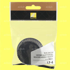 Genuine Nikon LF-4 Rear Lens Cap Protector Dust Cover LF4