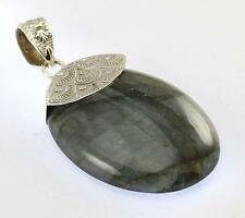 LABRADORITE PENDANT 925 STERLING SILVER ARTISAN JEWELRY COLLECTION R722A