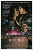Dune David Lynch cult sci-fi movie poster print