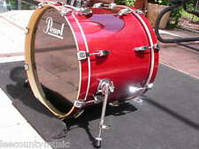 """BRAND NEW!!! PEARL 20"""" ELX EXPORT BASS DRUM IN GALAXY RED for DRUM SET #K823"""