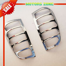 For 1997-2003 Ford F150 Chrome Taillight Covers Caps Lid Trim Bezels Trims 2 Pcs