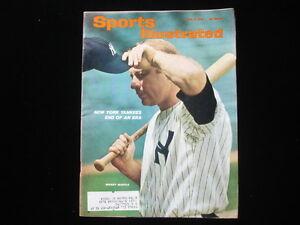 June 21, 1965 Mickey Mantle Sports Illustrated Magazine EX+