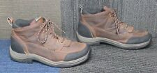 Mens Ariat Terrain H2O Brown Leather Ankle Hiking Boots sz 12 D