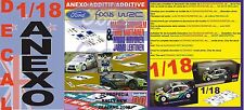 ANEXO DECAL 1/18 FORD FOCUS GRONHOLM & HIRVONEN NEW ZEALAND 2006 1st & 2nd (02)