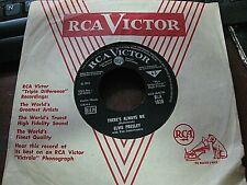 Elvis Presley RARE Import 45 - Judy / There's Always Me - RARE UK GEMA RCA 1628