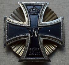 Eisernes Kreuz 1.Klasse 1914 Sternenschraubscheibe O.Schickle vor1945 orig. TOP