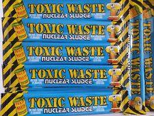 12 bars toxic waste Sour Sweet Box sweets gift box - Blue Raspberry