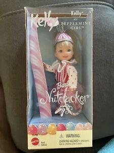 KELLY As Peppermint Girl Nutcracker Ballet barbie Club KELLY 2001 Mattel 50798