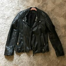 All Saints Jasper leather jacket extra small