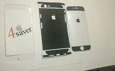 Paillettes Noires Apple iPhone 6 Peau Protection Collante Film De Decal Design