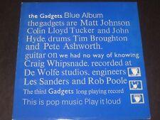 The Gadgets rare 83 UK 1st press LP Blue Album mint- * Matt Johnson * POST PUNK