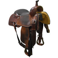 "Used 16"" Martin Saddlery Ranch Cutting Saddle Code: U16MARTINRC12DW"
