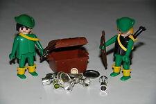 Playmobil 3263 a) Medieval ritter knights cabaleros robin hood  tesoro treasuse