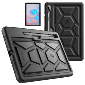 Poetic Kids Friendly Silicone Case For Galaxy Tab S6 Tablet Cover Black