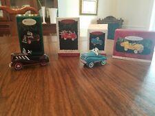 """Hallmark, """"Kiddie Car Classics,"""" Murray Fire Truck, Champion, Dump Truck, Plus1"""