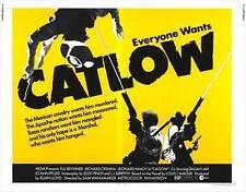 CATLOW Movie POSTER 22x28 Half Sheet Yul Brynner Richard Crenna Leonard Nimoy
