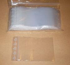 100 Tütchen Polybeutel 60 x 80 Druckverschluss Druckverschlussbeutel Zip Tüten