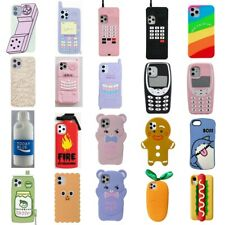 Cute 3D Cartoon Kids Cover Case For iPhone 12 11 Pro Max 12 Mini X XR 8 7 6 Plus